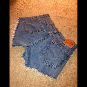 Women's Levi's shorts